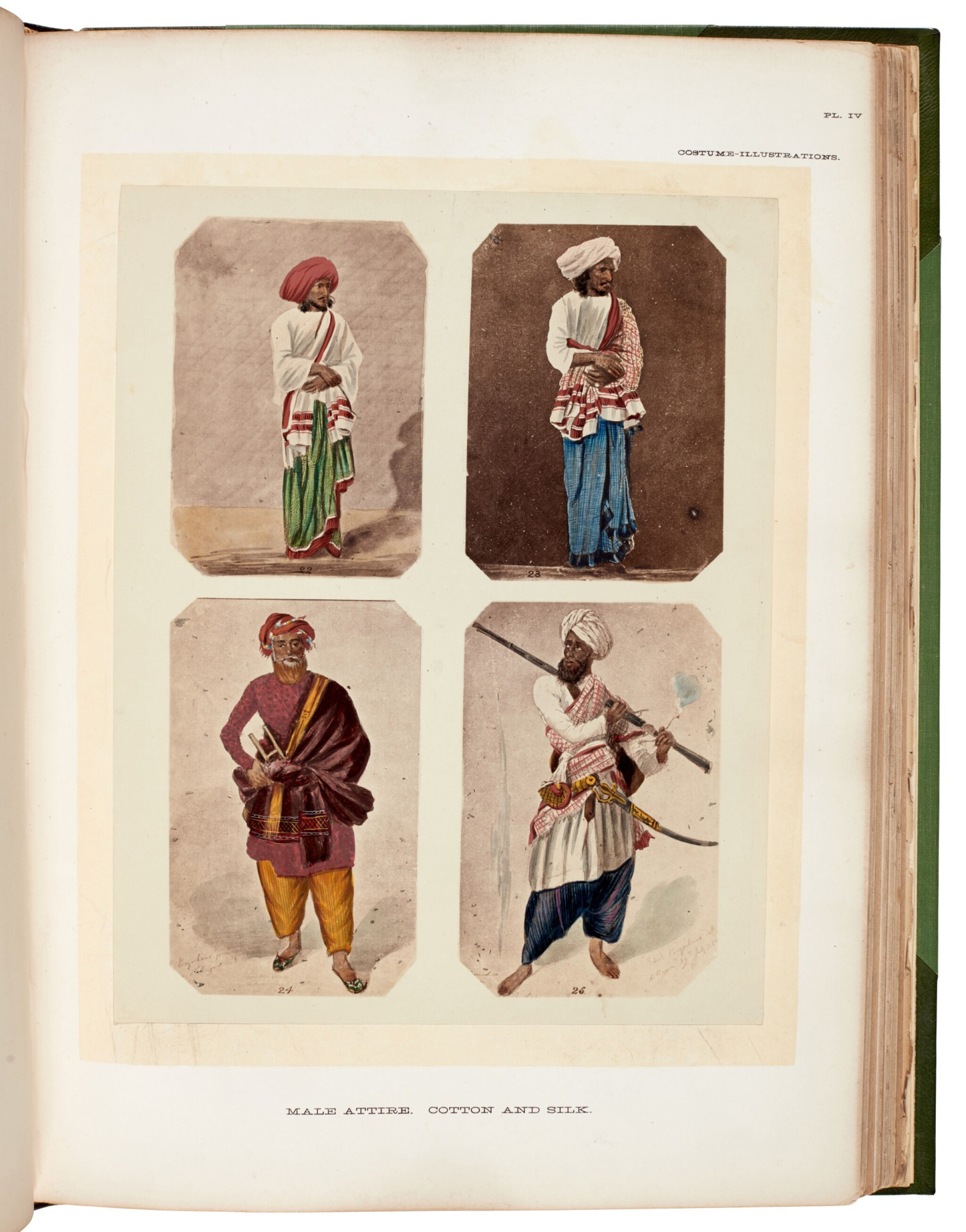 View full screen - View 1 of Lot 183. John Forbes Watson | The Textile manufactures and the costumes of the people of India, 1867.
