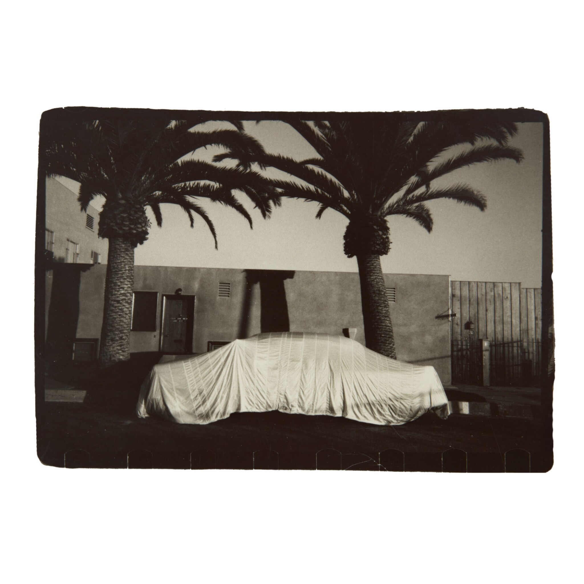 ROBERT FRANK  | 'LONG BEACH, CALIF.' (COVERED CAR)