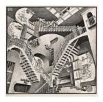 M. C. ESCHER | RELATIVITY (BOOL/KIST/LOCHER/WEIRDA 389)