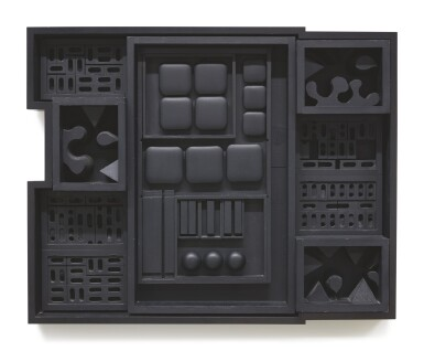 View 1. Thumbnail of Lot 405. LOUISE NEVELSON | NIGHT ZAG IV.