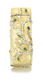 GOLD AND EMERALD LIGHTER