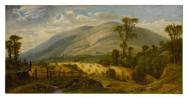 AMERICAN SCHOOL, 19TH CENTURY  | HUDSON RIVER LANDSCAPE