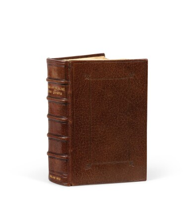 View 2. Thumbnail of Lot 16. El Ingenioso Hidalgo Don Quixote de la Mancha. Milan, 1610. Première édition publiée en Italie.