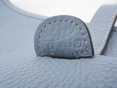 Ciel leather, canvas and palladium hardware Evelyne PM 29, Hermès, 2012