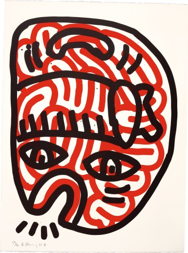 KEITH HARING | LUDO 1-5 (L. PP. 44-47)