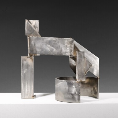 View 3. Thumbnail of Lot 655. SIR ANTHONY CARO, R.A. | STAINLESS PIECE A-G.