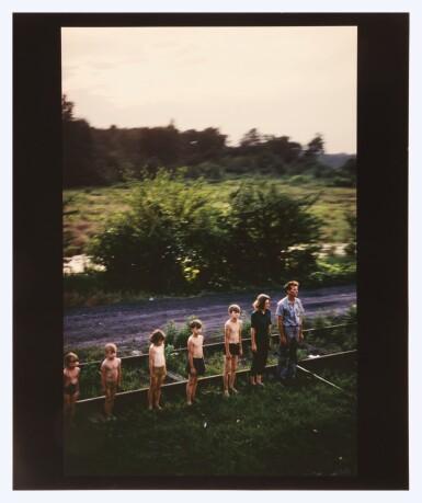 View 2. Thumbnail of Lot 30. PAUL FUSCO | 'RFK FUNERAL TRAIN - REDISCOVERED'.
