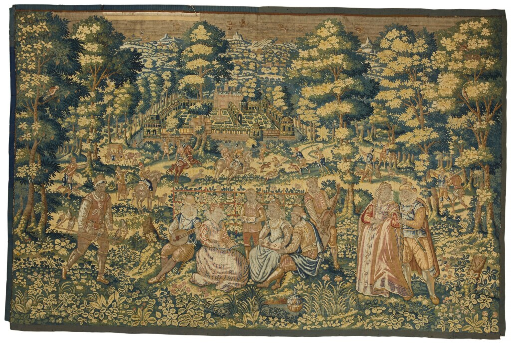 A GAME PARK TAPESTRY, SOUTHERN NETHERLANDS, PROBABLY BRUSSELS, LATE 16TH/EARLY 17TH CENTURY