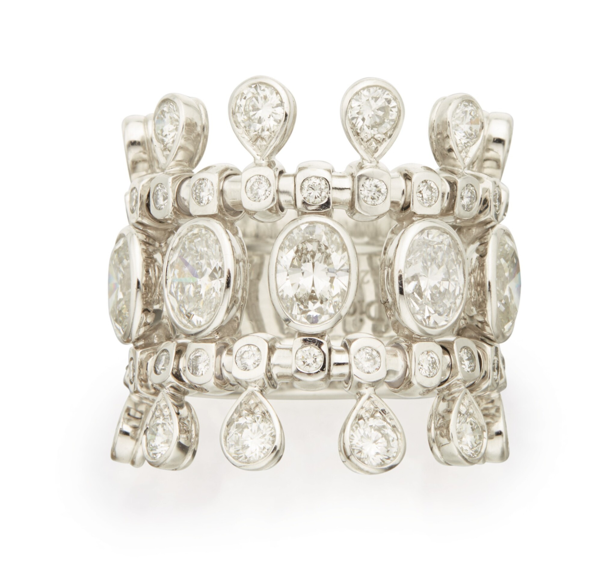 View 1 of Lot 331. DIAMOND RING, DIOR, FRANCE .