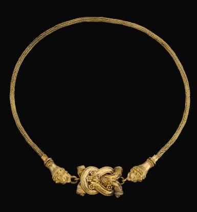 A GREEK GOLD THIGH-BAND, CIRCA LATE 4TH CENTURY B.C.