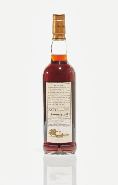 View 2. Thumbnail of Lot 6. The Macallan Fine & Rare 32 Year Old 50.6 abv 1969 (1 BT70cl).