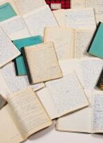 La Bâtarde. 1958-1963. Important manuscrit autographe, premier jet. 23 cahiers, env. 2048 p. ms.