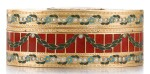A GOLD, HARDSTONE AND ENAMEL SNUFF BOX, JOHANN CHRISTIAN NEUBER, DRESDEN, CIRCA 1775