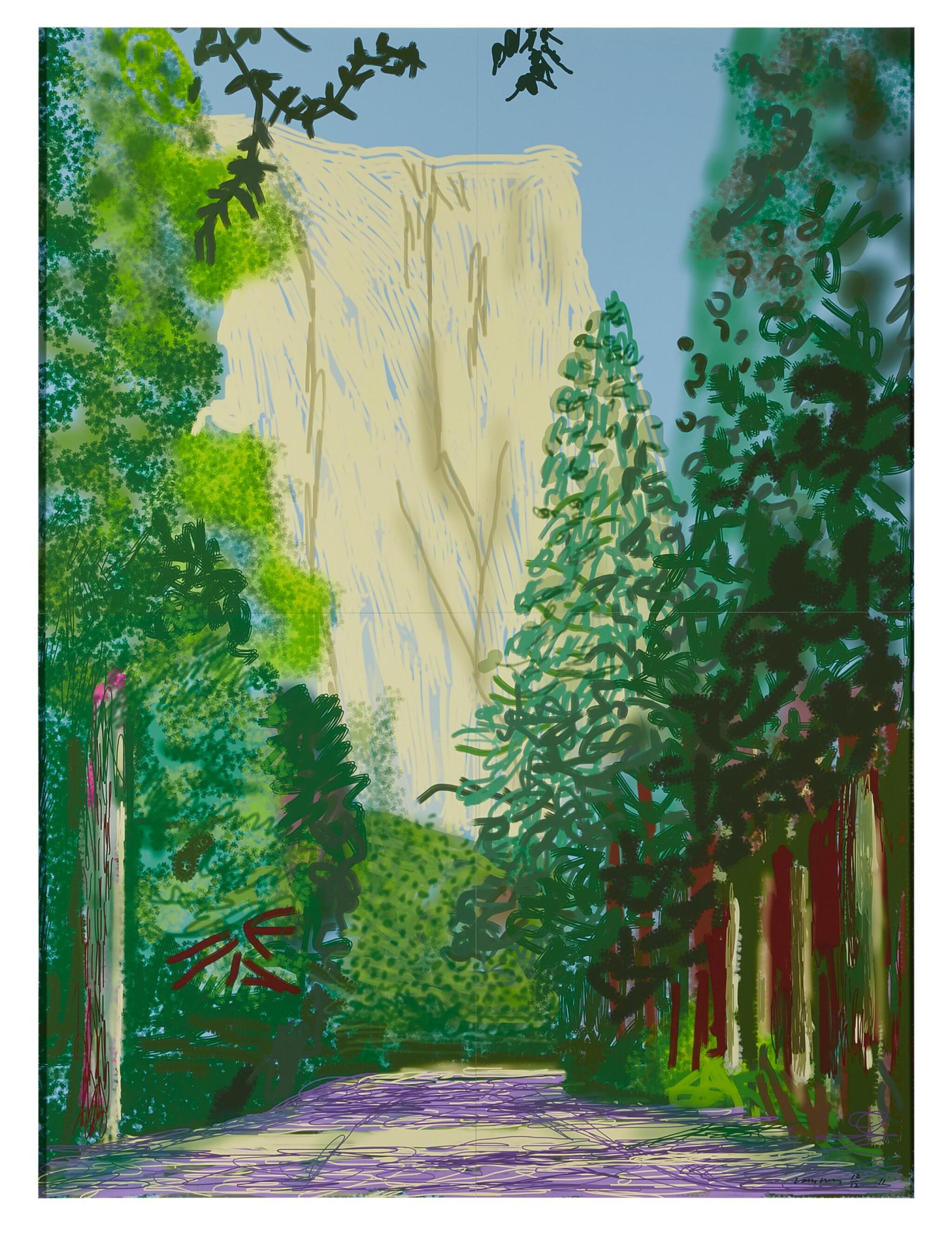 View full screen - View 1 of Lot 30. Yosemite II, October 16th 2011.