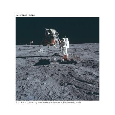 View 8. Thumbnail of Lot 104. [APOLLO 11]. ORIGINAL, FIRST-GENERATION NASA VIDEOTAPE RECORDINGS OF THE APOLLO 11 LUNAR EVA.