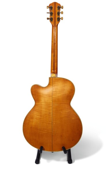 GEORGE HARRISON | 1959 Hofner President 'thinline' semi-acoustic guitar, owned by him and given to Alan Herring