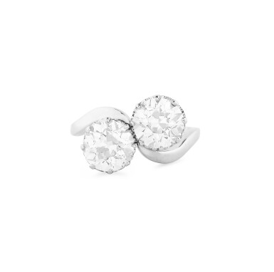 View 1. Thumbnail of Lot 2. BAGUE DIAMANTS | DIAMOND RING.