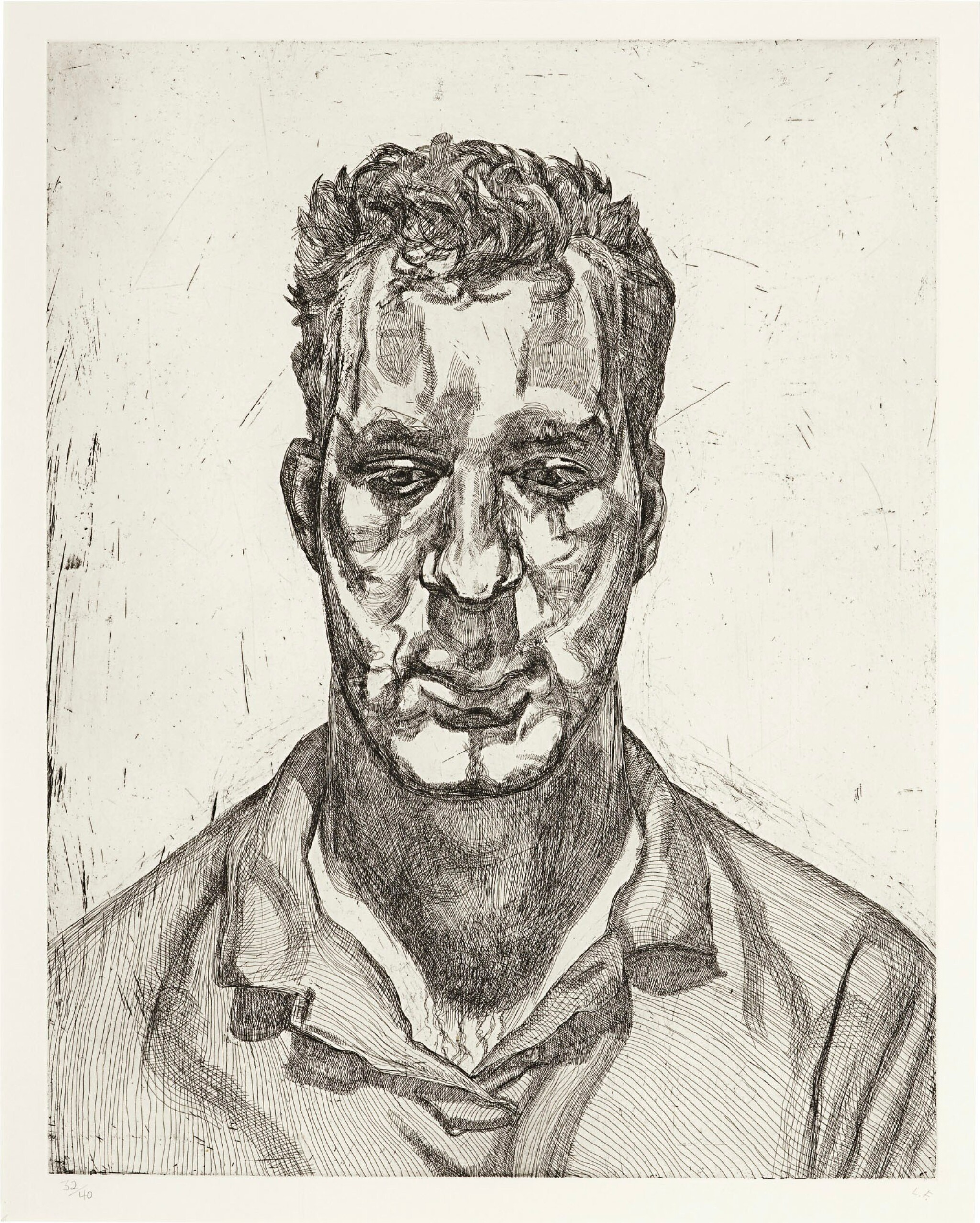 View 1 of Lot 104. LUCIAN FREUD | KAI (H. 45; F. 64).