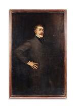 LA GANDARA. Portrait de Jean Lorrain. [1902]. Huile sur toile. de la collection personnelle de La Gandara.
