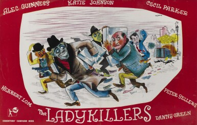 THE LADYKILLERS (1955) CAMPAIGN BOOK COVER, BRITISH