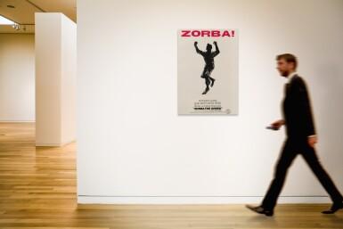 ZORBA THE GREEK (1964) POSTER, AUSTRALIAN