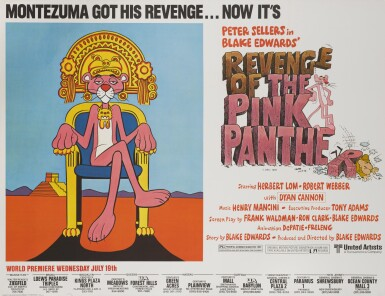 REVENGE OF THE PINK PANTHER (1978) POSTER, US