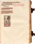 Pelbartus de Themeswar, Sermones pomerii de sanctis, Lyon, 1514, contemporary stamped calf