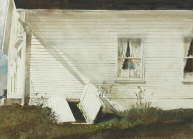 View 1. Thumbnail of Lot 5. ANDREW WYETH | ELSIE'S HOUSE.