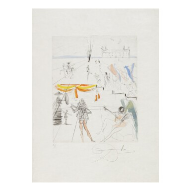 View 8. Thumbnail of Lot 93. SALVADOR DALÍ   THE HIPPIES (MICHLER & LÖPSINGER 377-387; FIELD 69-13).