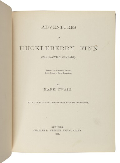 """View 2. Thumbnail of Lot 29. Clemens, Samuel Langhorne 