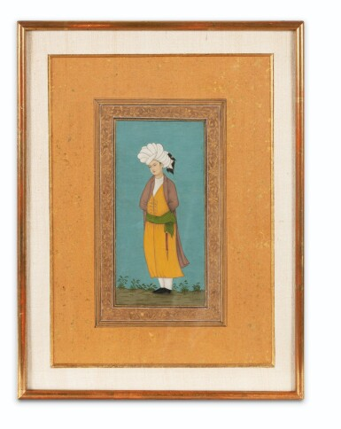 View 2. Thumbnail of Lot 71. NORTHERN INDIA AND DECCAN, 19TH CENTURY | FOUR PORTRAITS.