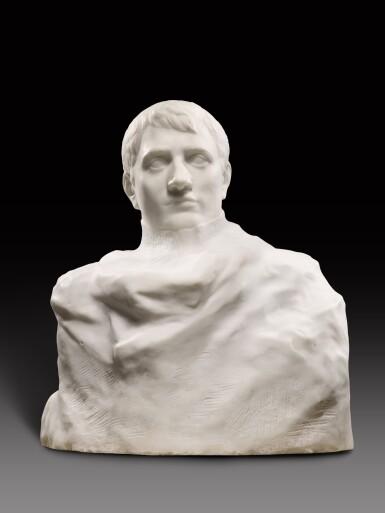 View 12. Thumbnail of Lot 1016. Auguste Rodin 奧古斯特・羅丹 | Napoléon Enveloppé dans Son Réve 逐夢的拿破崙.