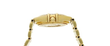 View 4. Thumbnail of Lot 28. Reference 895 1243 Constellation  A yellow gold and diamond-set bracelet watch with mother-of-pearl dial, Circa 1998 .