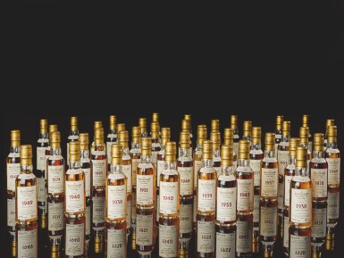 View 6. Thumbnail of Lot 161. THE MACALLAN FINE & RARE MINIATURE COLLECTION          .
