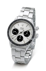 ROLEX | COSMOGRAPH DAYTONA, REFERENCE 6263, A STAINLESS STEEL CHRONOGRAPH WRISTWATCH WITH SIGMA DIAL AND BRACELET, CIRCA 1972