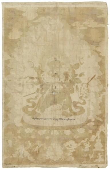 View 2. Thumbnail of Lot 309. THE GODDESS CARCIKĀ AND CONSORT, CHINA, BEIJING, QING DYNASTY (1644-1911),  QIANLONG PERIOD (1735-1796).