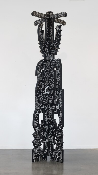 View 1. Thumbnail of Lot 418. Untitled (Totem).