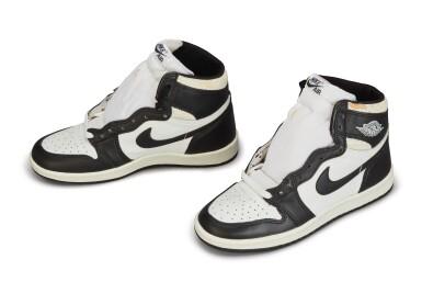 View 2. Thumbnail of Lot 11. Nike Air Jordan 1 High OG (1985) 'Black & White'  Size 8.5.