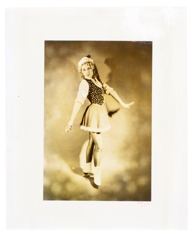 View 1. Thumbnail of Lot 56. Untitled (Ice Skater).
