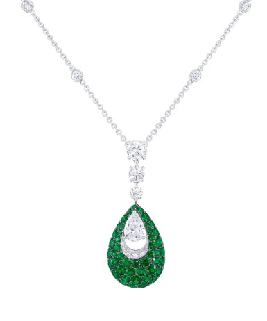 COLLIER ÉMERAUDES ET DIAMANTS, GRAFF | EMERALD AND DIAMOND NECKLACE, GRAFF