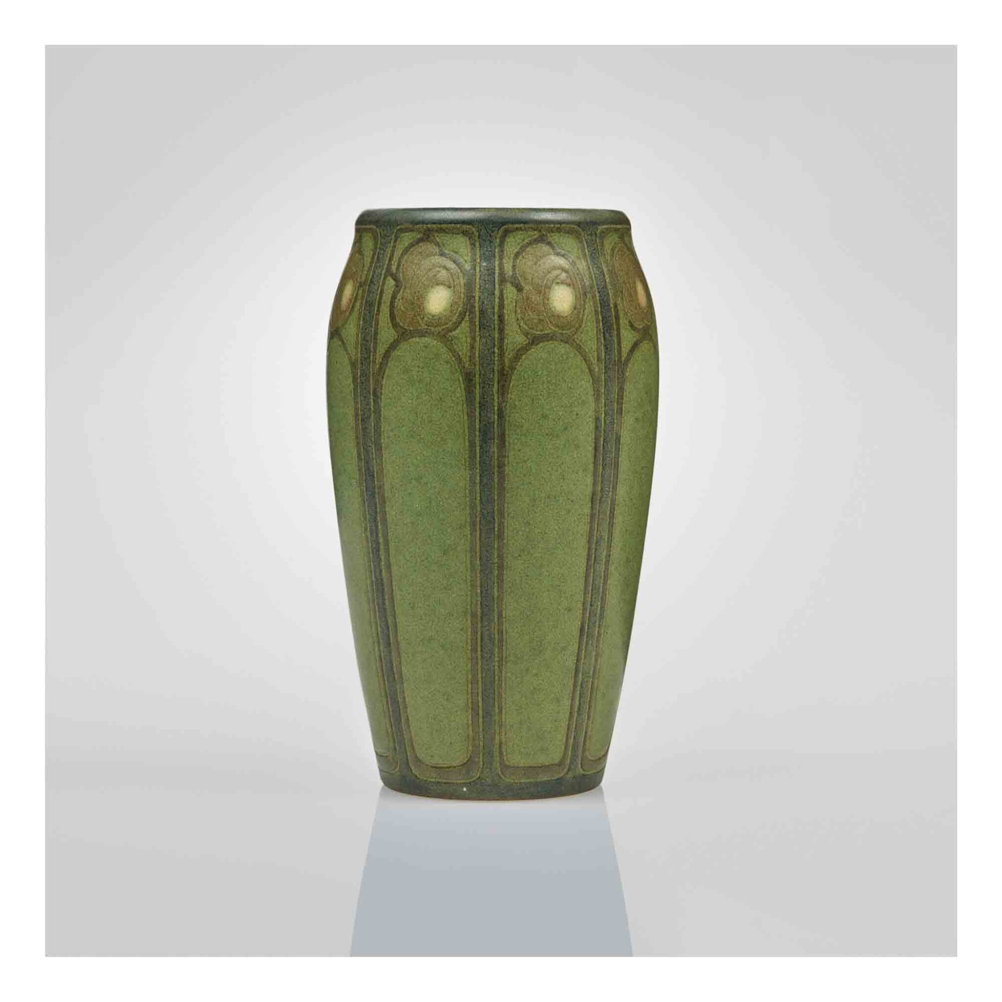 """View 1 of Lot 318. A Rare """"Rose"""" Vase."""