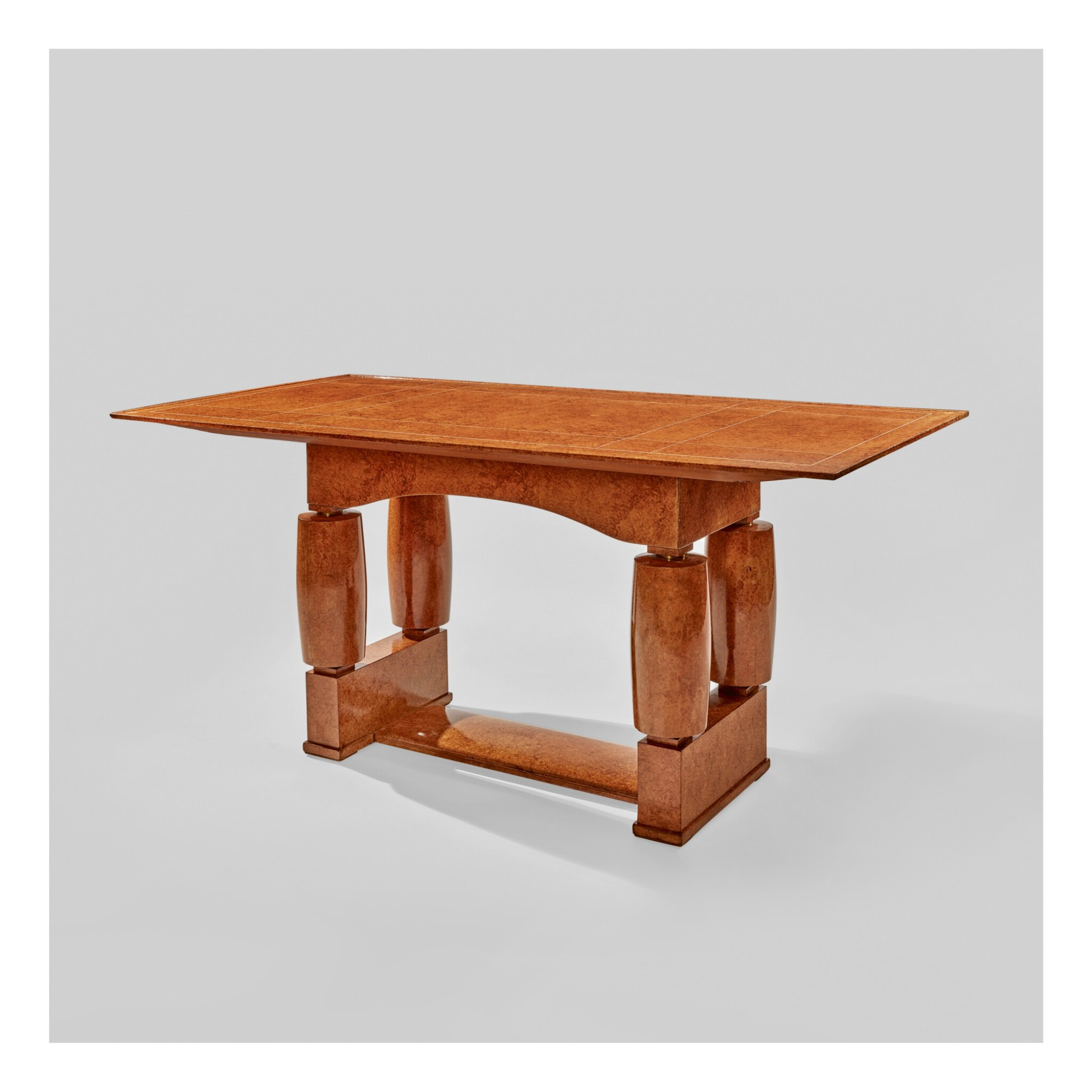 "View 1 of Lot 30. A Unique ""Lorcia"" Table, Model No. NR1510/AR1 029."