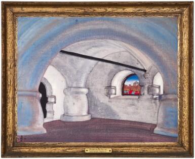 View 2. Thumbnail of Lot 13. NIKOLAI KONSTANTINOVICH ROERICH   CHAMBER IN SADKO'S PALACE.