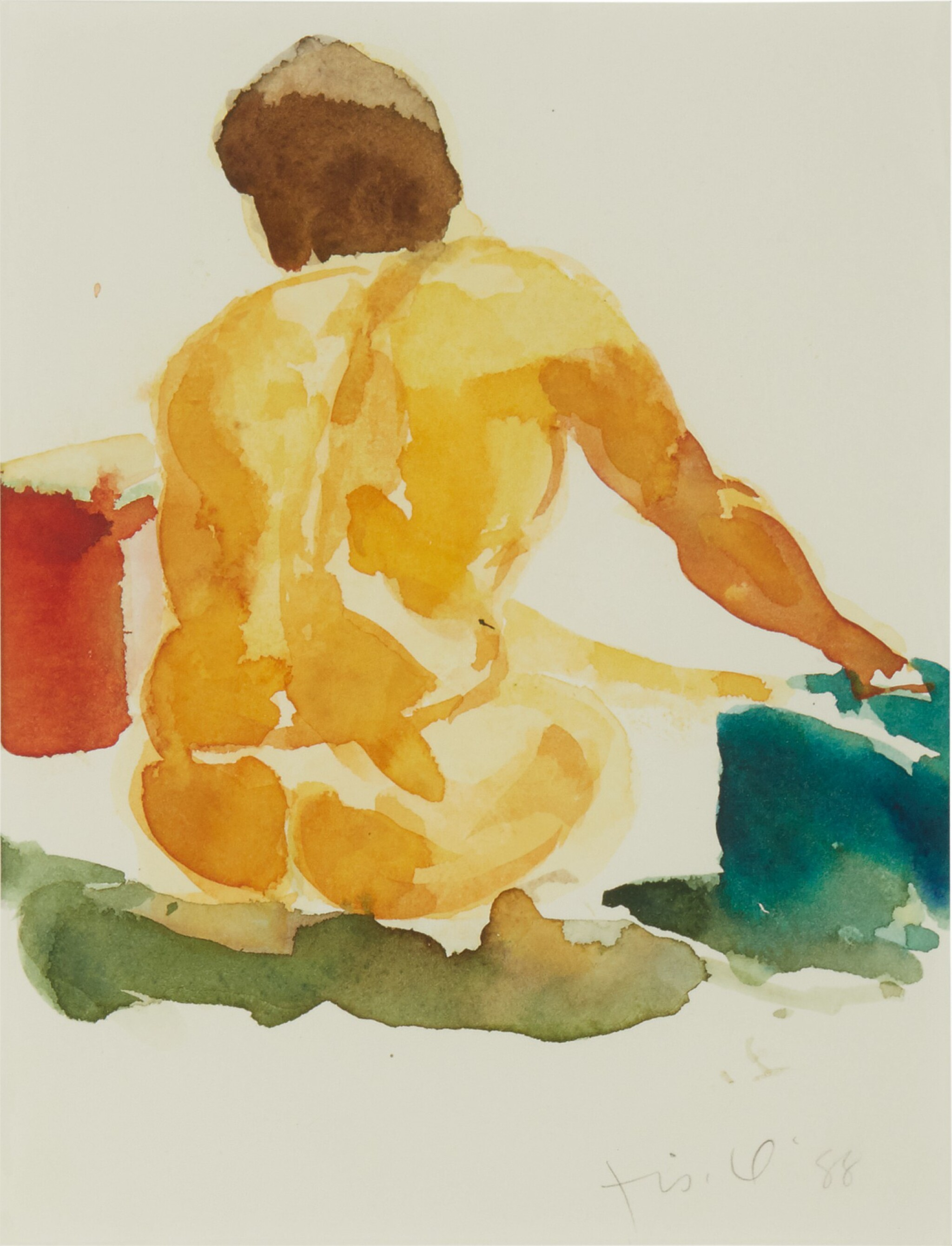 View full screen - View 1 of Lot 548.  ERIC FISCHL | UNTITLED (NUDE).