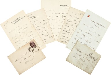 View 3. Thumbnail of Lot 126. Oscar Wilde | Five autograph letters signed, to Alsager Vian, 1887.