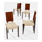 AFTER ANDRÉ SORNAY | SET OF FOUR SIDE CHAIRS
