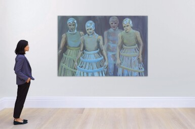 View 3. Thumbnail of Lot 110. The Blue Dancers.