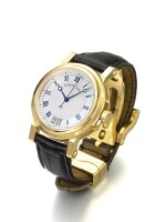 BREGUET | MARINE, REF 5817 A YELLOW GOLD AUTOMATIC WRISTWATCH WITH DATE CIRCA 2005