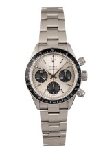 ROLEX | Daytona, Ref 6263 A Stainless Steel Chronograph Wristwatch with Bracelet 1978