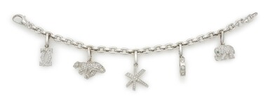 DIAMOND CHARM BRACELET  (BRACCIALE CON PENDENTI IN DIAMANTI), CARTIER